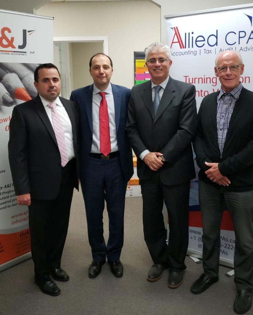 Merger of Allied CPA and A&J CPA - A&J Chartered Professional Accountants in Mississauga, Ontario