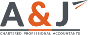 A&J Chartered Professional Accountants Logo